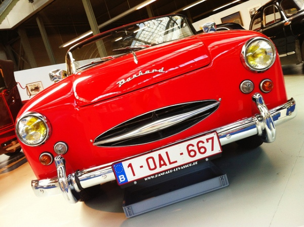 Panhard Dyna Junior ( Autoworld, Bruxelles )