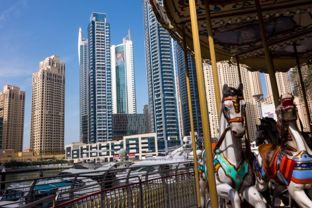 Carrouselle in Dubai's Marina
