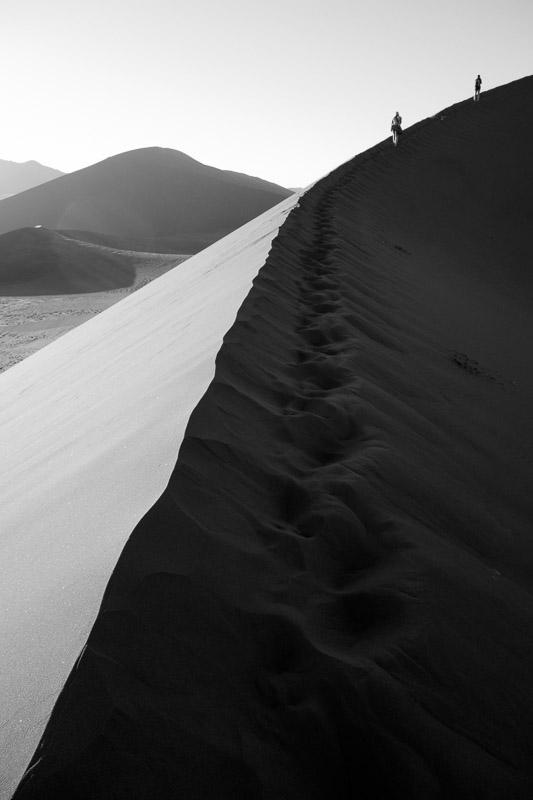 Dune 45 dans le désert de Namib