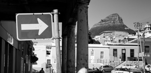 _Lion head mountain as seen from Bo-Kaap, Cape Town