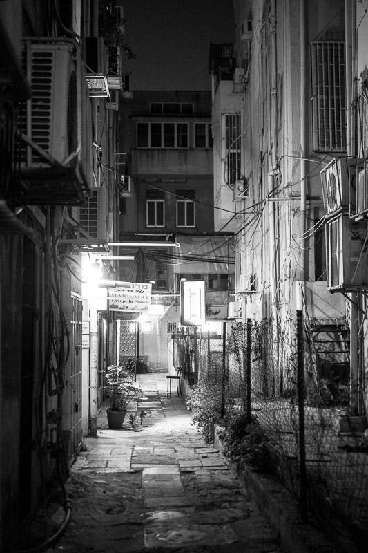 Ruelle à Tel Aviv, Israël