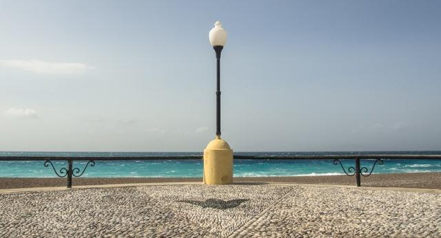 Lampadaire à Rhodes