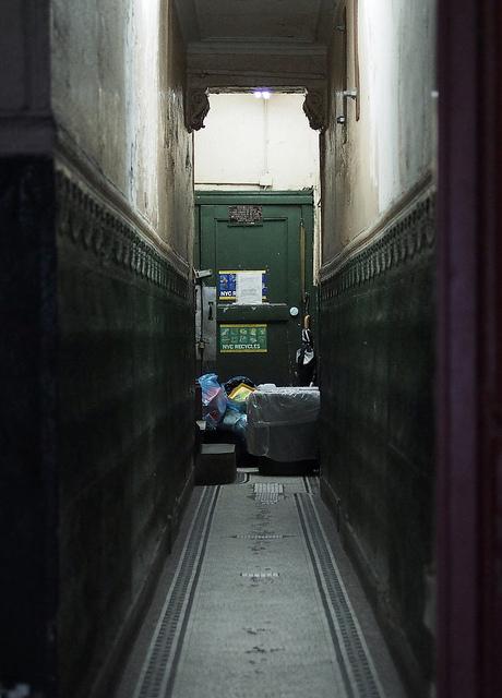 Couloir dans un appart de New York
