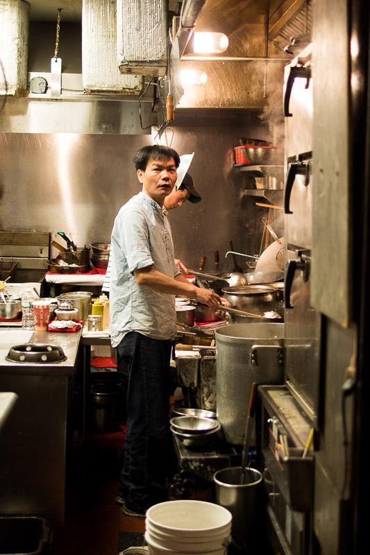 Cuisinier dans Chinatown