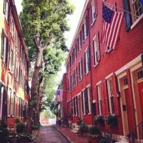 Rue typique de Society Hill