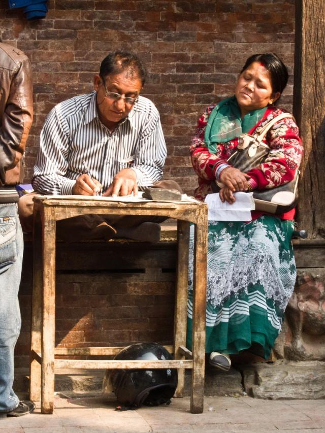 Rédacteur publique à Kathmandu
